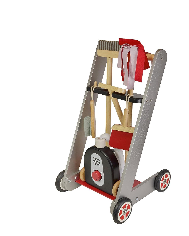 I'm Toy Putzwagen aus Holz