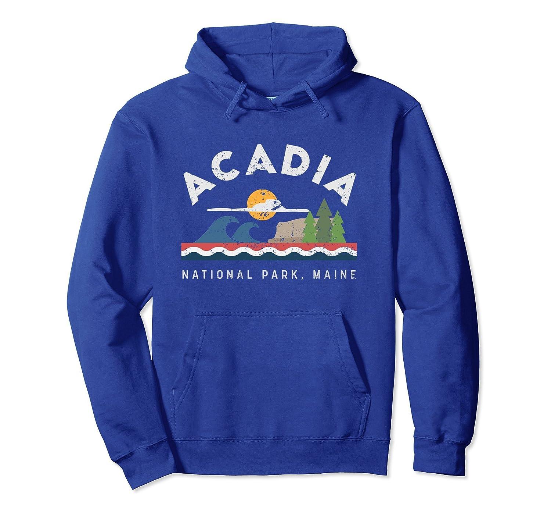 Acadia National Park Maine Hoodie-ln