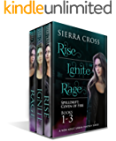 The Spelldrift Coven of Fire Series, Books 1-3: Rise, Ignite, Rage