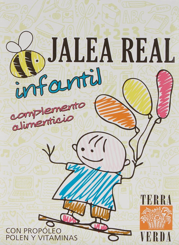 TERRA VERDA - Jalea Real Infantil 20Amp: Amazon.es: Salud y ...