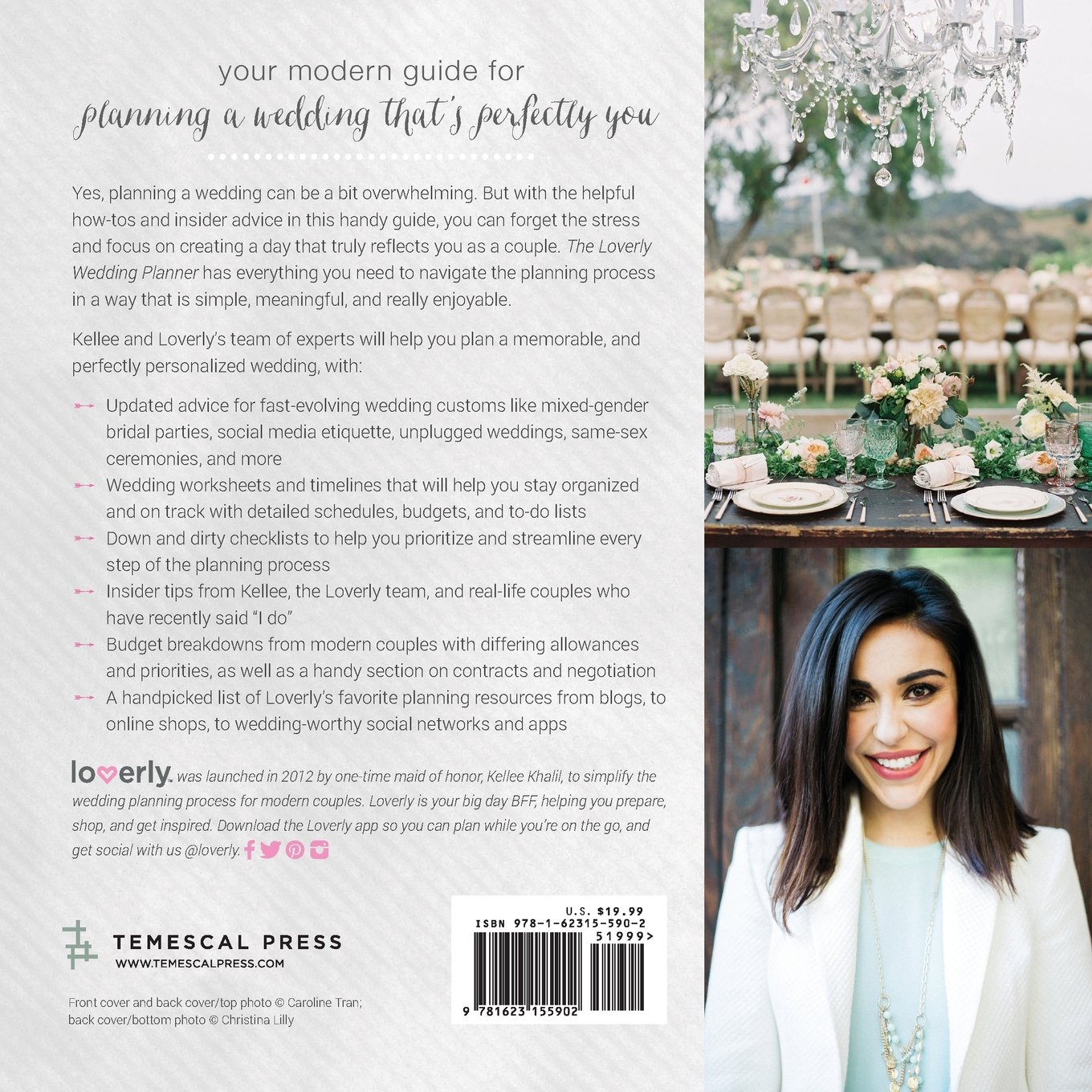 Amazoncom Loverly Wedding Planner The Modern Couples Guide to