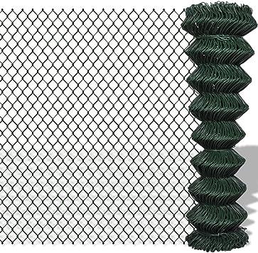 Zora Walter Valla Cerca de malla metálica galvanizada 1,5 x 15 m verde Valla Jardín Barriere exterior Valla metálica accesorios Valla Kit Valla exterior: Amazon.es: Bricolaje y herramientas