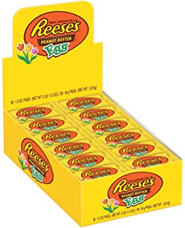 Reeses Easter Peanut Butter Egg 12 Ounce Packages Pack Of