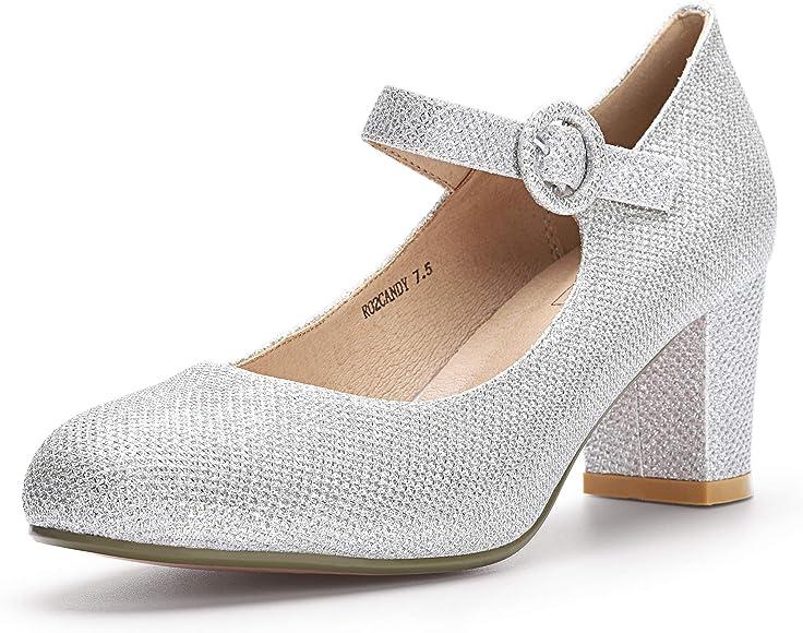 IDIFU Women's Candy Mary Jane Shoes Low
