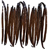 Native Vanilla Grade A Tahitian Vanilla Beans – 25 Premium Gourmet Whole Pods – For Chefs and Home Baking, Cooking…