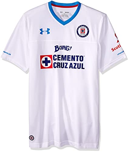 56501989 Amazon.com : Under Armour Cruz Azul 16/17 Away Replica Jersey XL White :  Sports & Outdoors