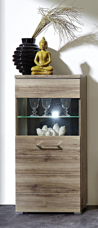 Stella Trading DLZZ631002 Wohnprogramm, Holz, braun, braun, braun, 35 x 60 x 126 cm 4c4461