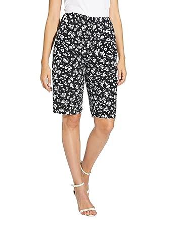 f91d7a6088 Balsamik - Bermuda élastiqué, en Tissu Fluide - Femme: Amazon.fr: Vêtements  et accessoires