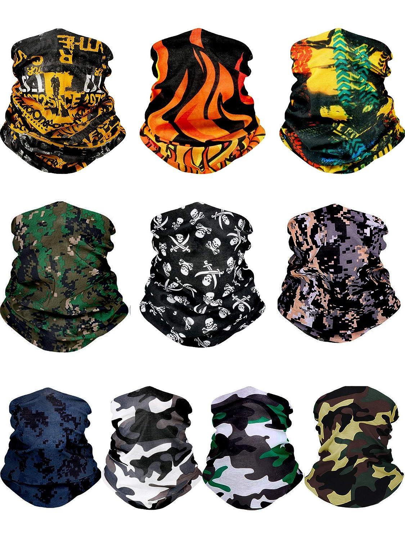 WYTong Bandanas Face Masks Seamless Multifunctional Headwear Magic Scarf Outdoor Bandana Face Mask Workout Hiking Balaclava