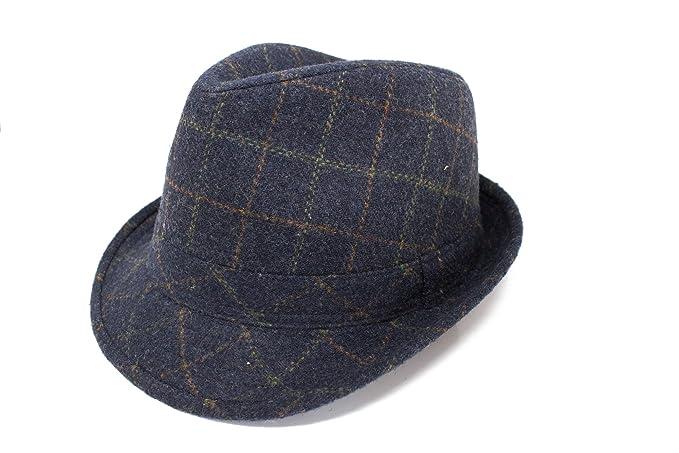 Fenside Country Clothing Sombrero de vestir - para hombre Azul azul marino  59 cm  Amazon.es  Ropa y accesorios 058bb9bc8f0