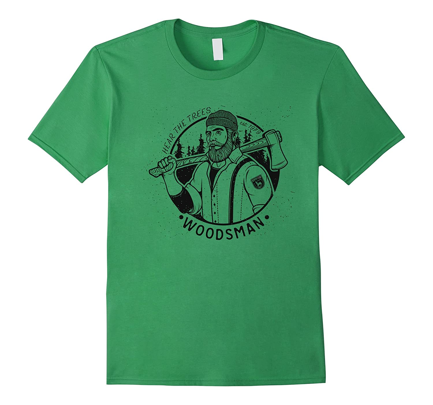 Axe-Man Lumberjack & Woodsman Outdoors T-Shirt-FL