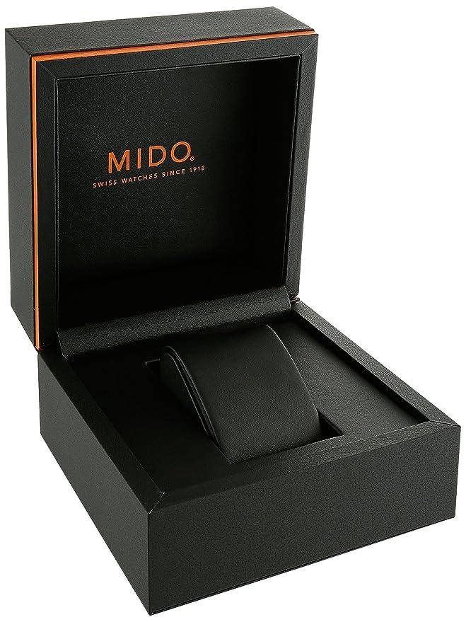 Amazon.com: Mido Mens M005.417.37.051.20 Swiss Multifort Chrono Quartz watch M0054173705120: Mido: Watches