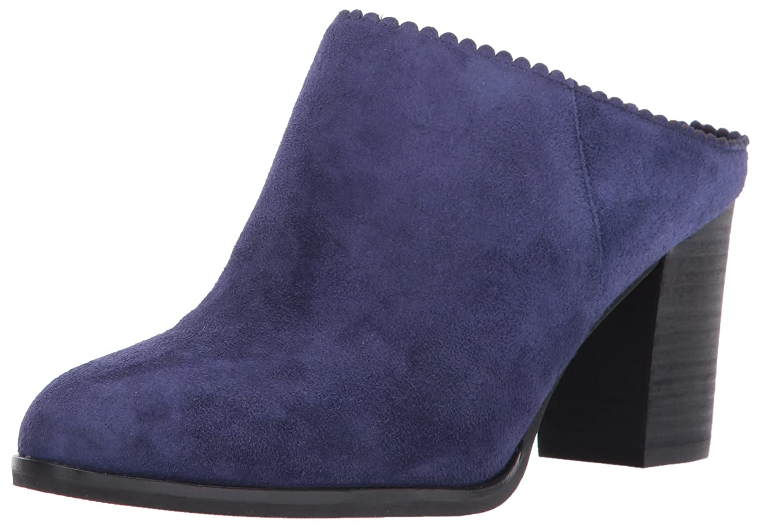 Via Spiga Women's Sophia Backless Bootie Ankle Boot B01NCWS322 6 B(M) US|Marina Blue Suede