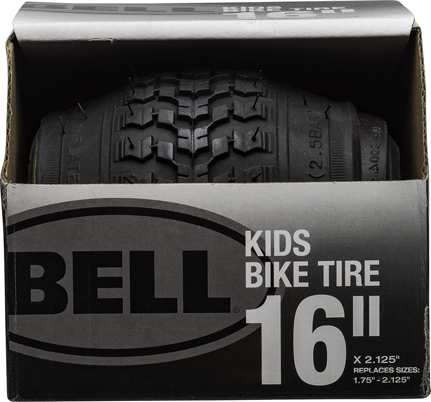 """Details about  /Bell Kids Bike Tires 16""""x 2.125"""" Replaces 1.75""""-2.125"""" White Set of 2 New"""