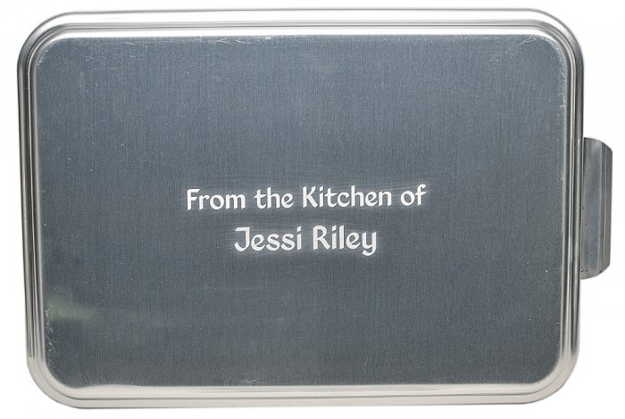 9x13 Original Retro Series, Wording & Name - $20.99 : That's My Pan!, Personalized Cake Pans and More