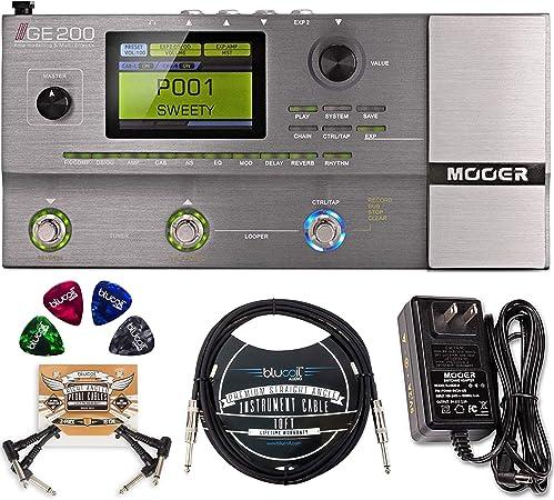 MOOER GE200 Pedal de efectos múltiples con amplificador de ...