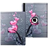 Amazon Com Ipad Case Cover Rotating Stand With Wake Up