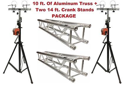 Amazon com: Aluminum Truss Portable 10' Lighting Truss