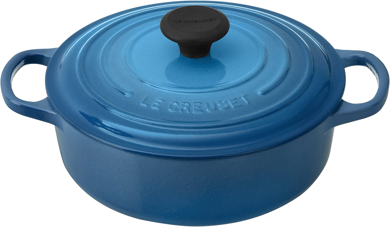 Le Creuset Signature Round Wide 3-1/2-Quart Dutch Oven, Marseille
