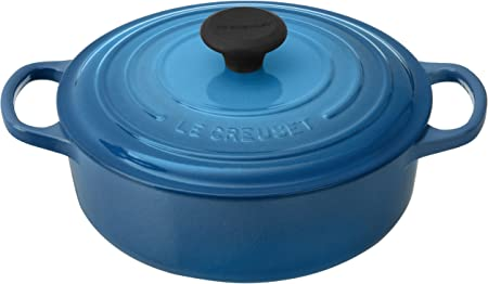 Le Creuset Signature Round Wide 3-1 2-Quart Dutch Oven, Marseille