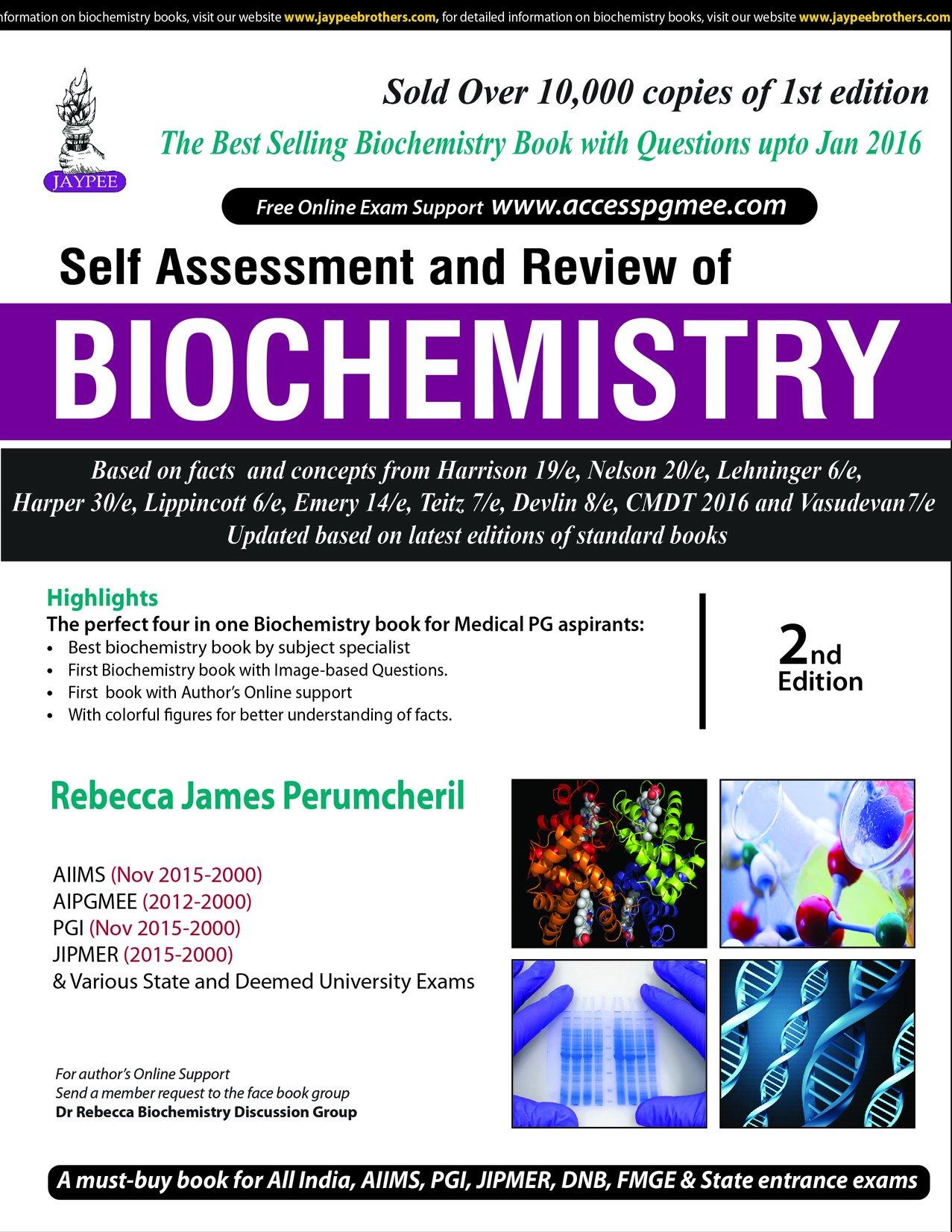 Kết quả hình ảnh cho Self Assessment and Review of BIOCHEMISTRY