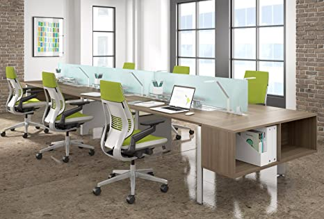 Sedia Ufficio Verde Mela : Sedia girevole gesture von stee lcase mela verde con la