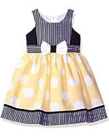 Bonnie Jean Girls' Nautical Dot Dress