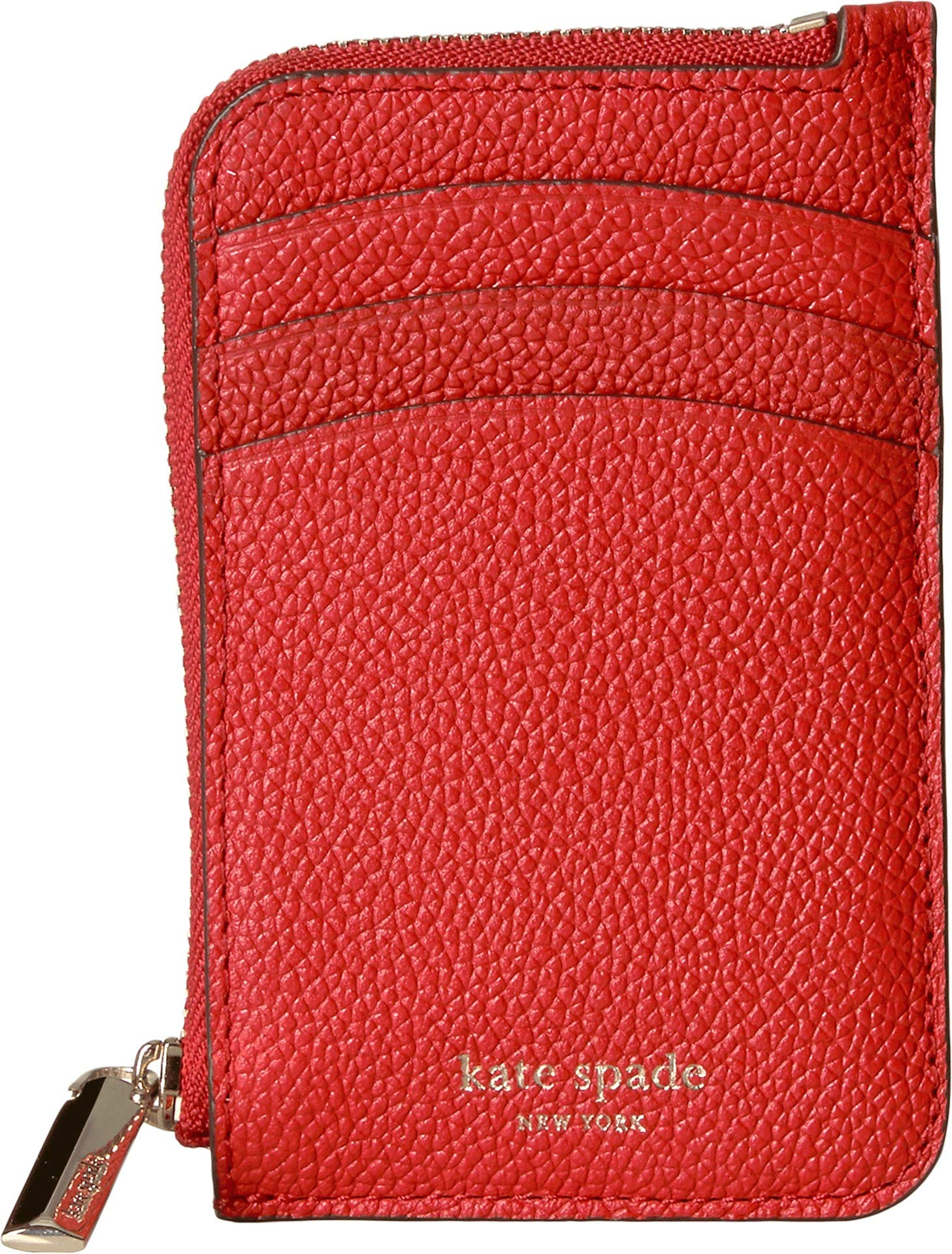 Kate Spade New York Women's Margaux Zip Card Holder Hot Chili One Size