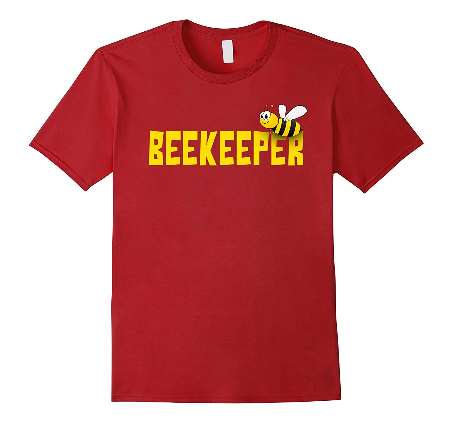 Beekeeper Funny Cute Beekeeping T shirt-Awarplus