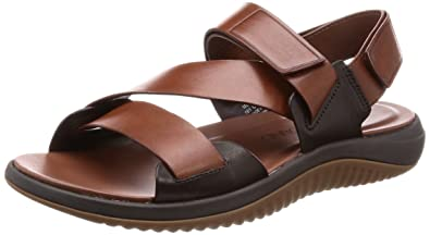 eaa902a8e334a7 Cole Haan Men s 2 Zerogrand Multi Strap Sandal 10 Woodbury-Dark Roast