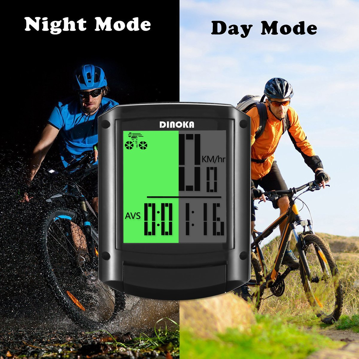 Balanced fitness and cycling signal mountain - Amazon Com Cycling Computers Wireless Bike Speedometer And Odometer Waterproof Digital Bike Computer Large Hd Lcd Screen Display Bicycle Speedometer