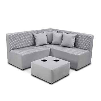 Strange Kangaroo Trading Co 1250Mdspeb Kids Sectional Set Upholstered Creativecarmelina Interior Chair Design Creativecarmelinacom