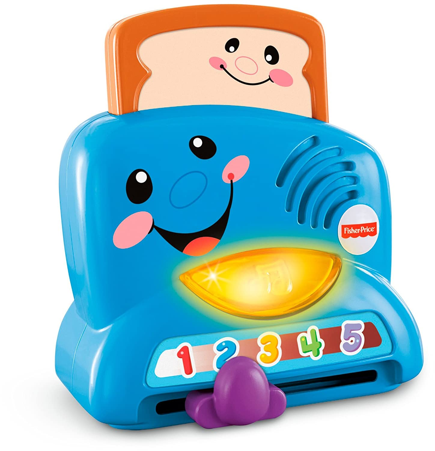 Amazon.com: Fisher-Price Laugh & Learn Peek-a-Boo Toaster: Toys & Games