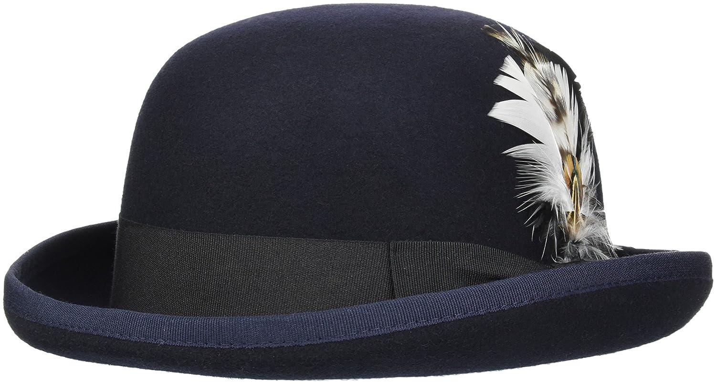 SUIT Men's Morgan-Q7031 Bowler Hat, Blau (Navy 3090), One Size SU1551