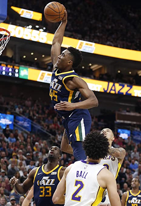 Amazon.com   Donovan Mitchell Utah Jazz Poster Photo Celebrity Basketball  NBA Limited Print Size 24x36 1   Everything Else 476d99e1e