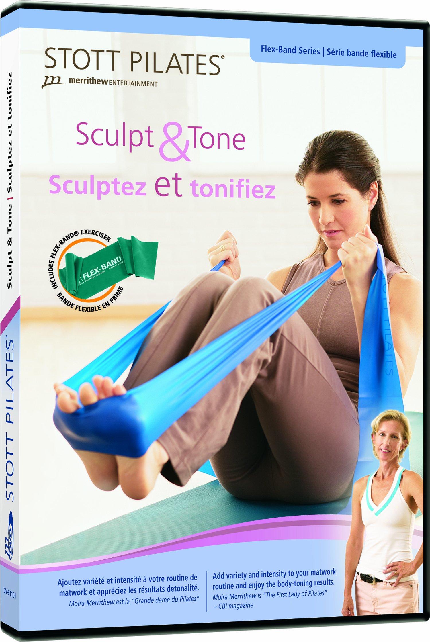 Stott Pilates Sculpt and Tone + Flex-Band DVD