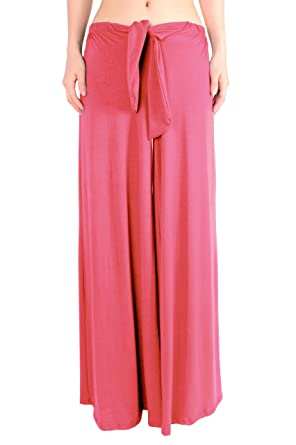 Leggingsqueen Women's Rayon Wide Pants at Amazon Women's Clothing ...