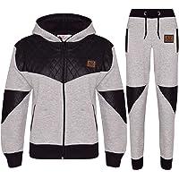 Kids Tracksuit Boys Girls Designer A2Z Project Zipped Top & Bottom Jogging Suit