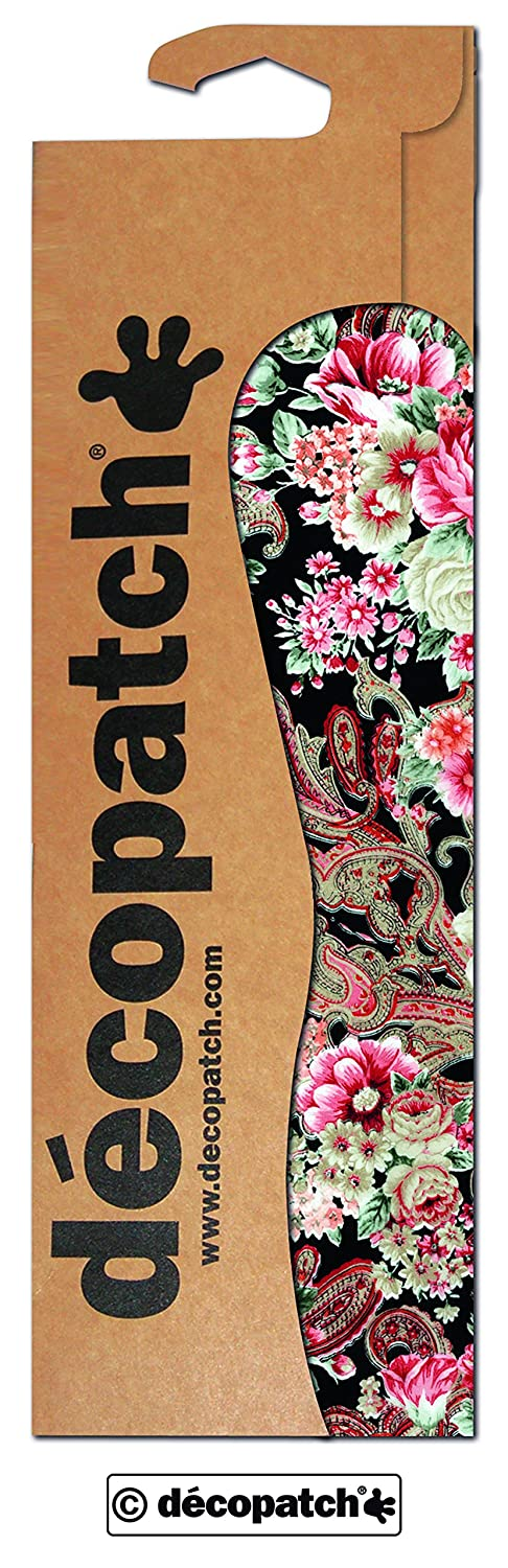 décopatch Gold Oriental Flower Paper, 30 x 40 cm, Pack of 3 Sheets C590O