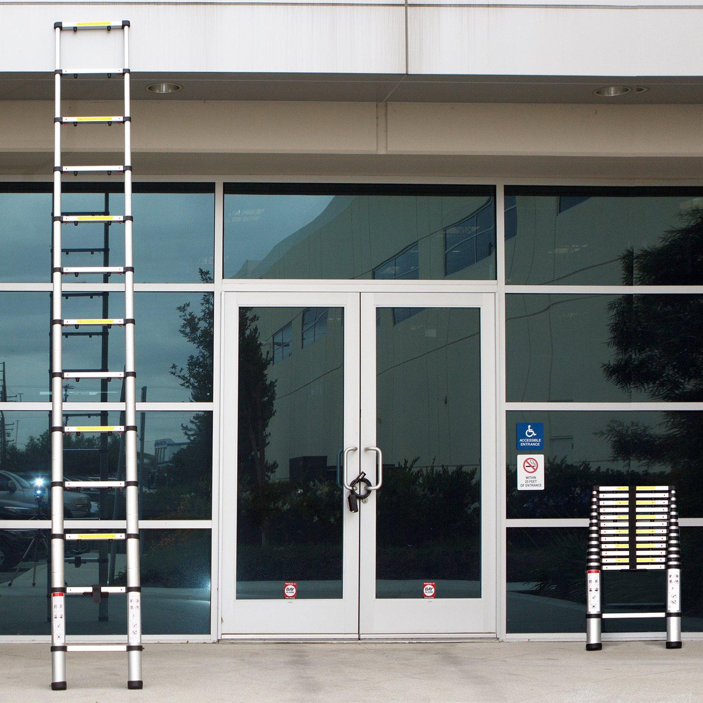 10. Oxgord 12.5 ft Aluminum Telescoping Ladder