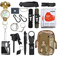 18 en 1 Kit de Supervivencia Bolsa Molle