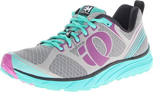 Pearl Izumi - Zapatillas de Running para Mujer Grey/Black: Amazon ...