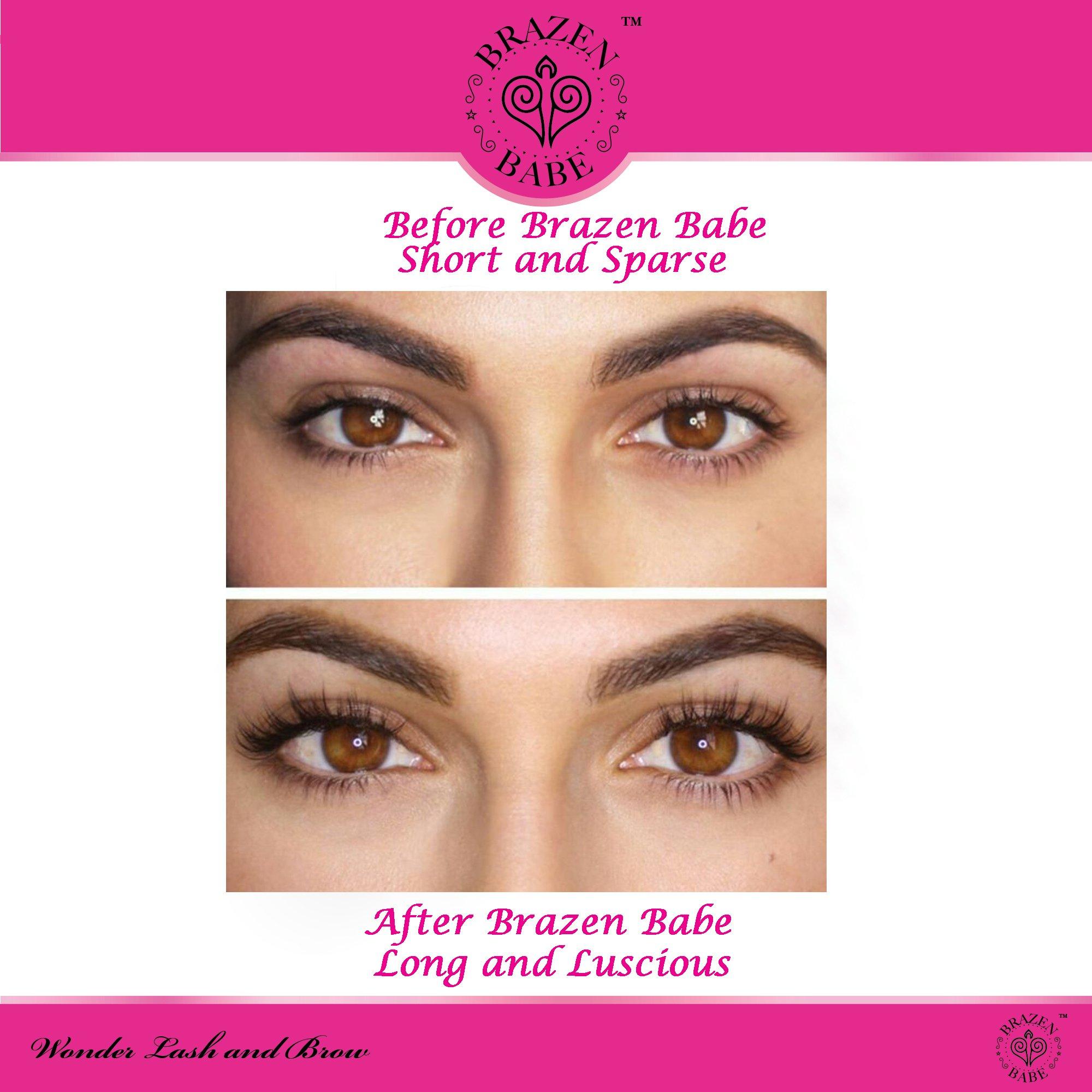 Eyelash Growth Serum Wonder Lash And Brow By Brazen Babe