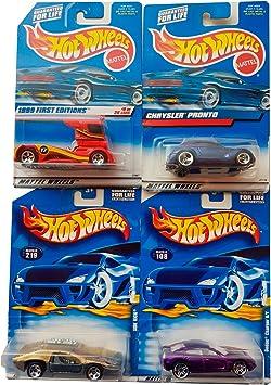 Hot Wheels Pack Coleccionista First Editions (4 unidades aleatorias): Amazon.es: Juguetes y juegos
