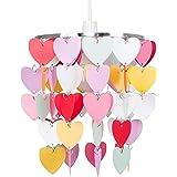 Girls Pretty Hearts Bedroom/Nursery Ceiling Pendant Light Shade