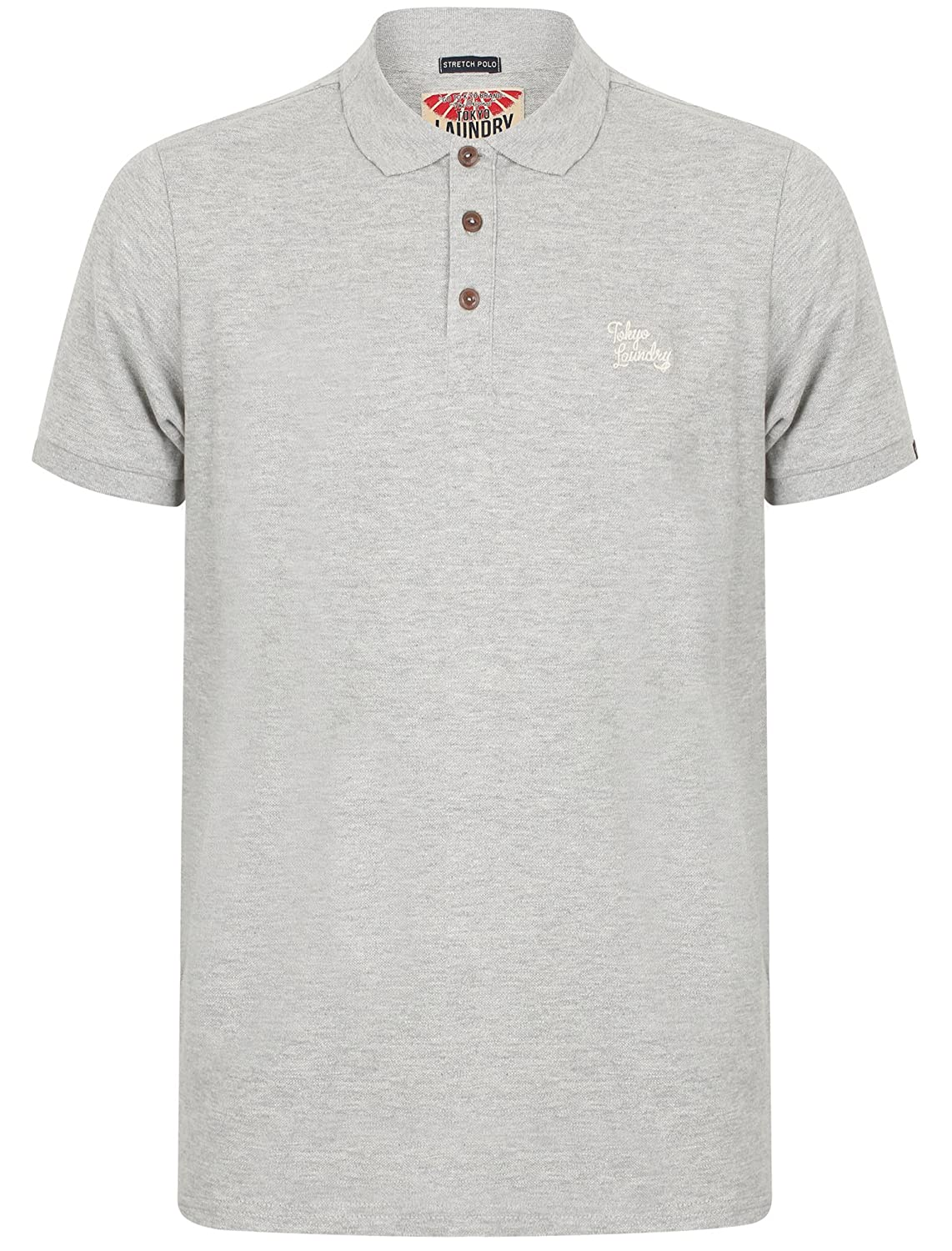 Tokyo Laundry Mens Stretch Pique Polo T-Shirt Roseville'