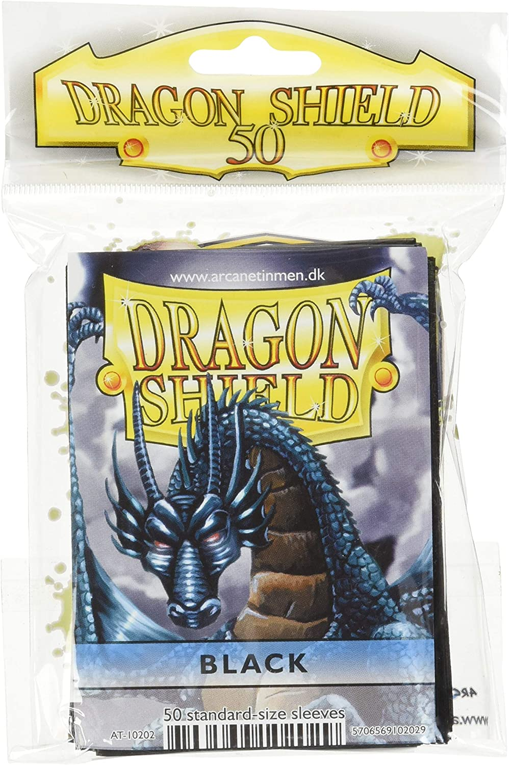 Dragon Shield 50ct Box Deck Protector Classic Black