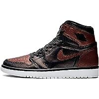 Jordan W Air 1 Hi Og (Black/Black-MTLC Rose Gold