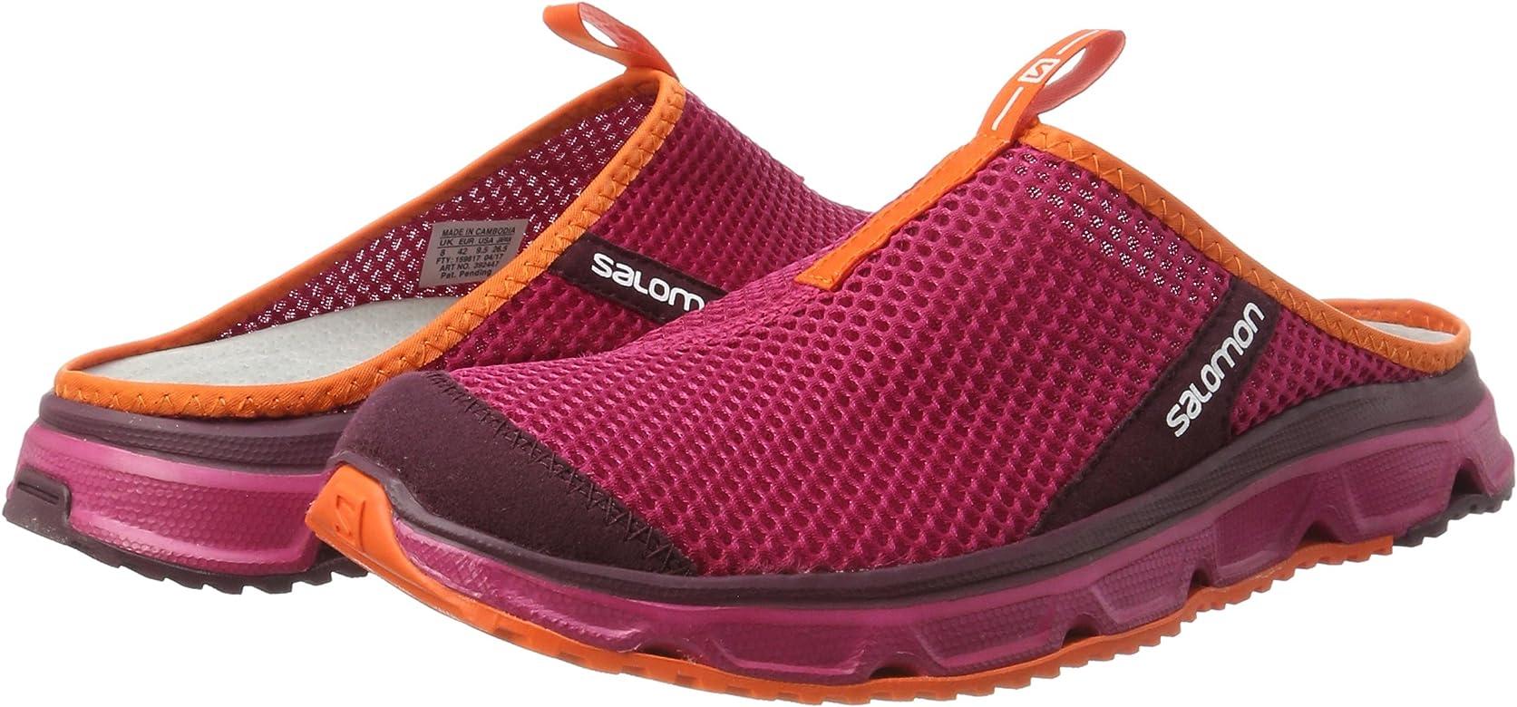 Salomon Rx Slide 3.0 W, Zapatillas de Trail Running Mujer,Sangria/Fig/Flame, 36: Amazon.es: Zapatos y complementos