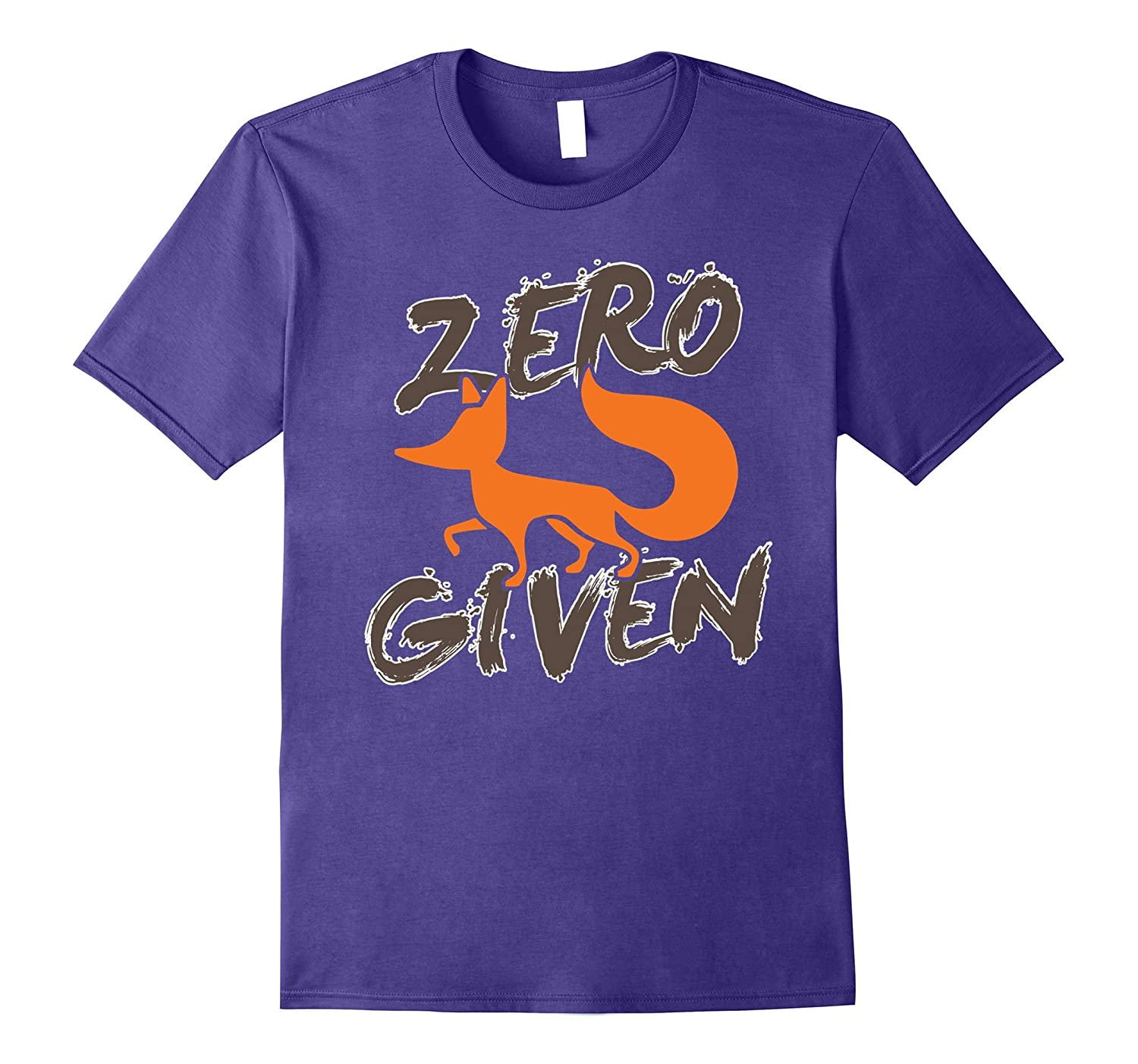 Zero Fox Given T-Shirt Fox Lover Gifts Novelty Men Women-TH